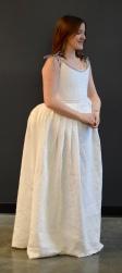 Built Nora Waugh's 1776 corset and petticoat. Model: Chloe Moore