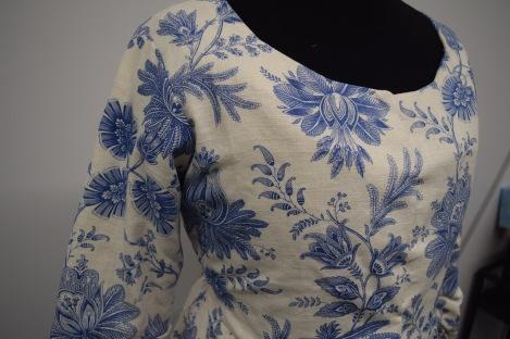 Finished jacket detail