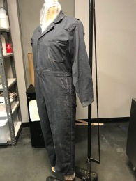 "Distressed and painted jumpsuit for BU's ""Angels in America"" Designed by Chloe Moore"
